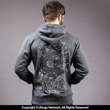 Meerkatsu Kiss of the Dragon Hoodie